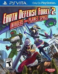 Earth Defense Force 2 (UPDATE v1.01+DLC) (Mai) [PSVita] [USA] [Mega]