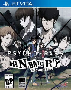 PSYCHO-PASS: Mandatory Happiness [PSVita] [VPK] [USA] [MF-MG-GD]