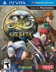 Ys: Memories of Celceta (UNDUB) (USA/EUR) (VPK) [PSVita] [MF-MG-GD]