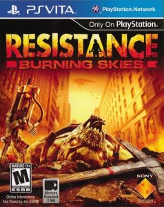 Resistance Burning Skies (USA/EUR) [PSVita] [VPK] [MF-MG-GD]