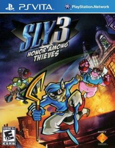 Sly 3 Honor Among Thieves (Mai/VPK) [PSVita] [USA] [MF-MG-GD]