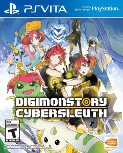 Digimon Story Cyber Sleuth (UPDATE 1.04+DLC) (EUR/USA) (VPK/Mai) [PSVita] [MF-MG-GD]