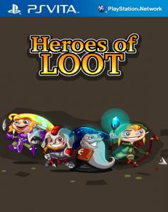 Heroes of Loot [PSVita] [VPK] [USA] [Mega]