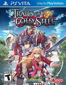 The Legend of Heroes Trails of Cold Steel (Update+DLC) (Mai/VPK) [PSVita] [USA]