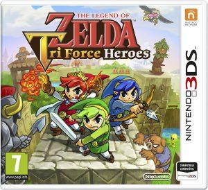 The Legend of Zelda Tri Force Heroes (UPDATE) (Region Free) (USA) [CIA] [Mega]
