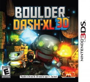 Boulder Dash-XL 3D (3DS) (RegionFree) (CIA) [MF-MG-GD]