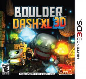 Boulder Dash-XL 3D (3DS) (RegionFree) (CIA) [MF-MG-GD]