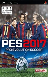 Pro Evolution Soccer 2017 [PSP] [Español] [ISO] [MF-MG-GD]