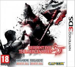 Resident Evil: The Mercenaries 3D (3DS) (RegionFree) (CIA) [EUR] [MF-MG-GD]