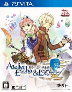 Atelier Escha & Logy Plus Alchemists of the Dusk Sky (DLC) [PSVita] [Mai] [EUR] [MF-MG-GD]