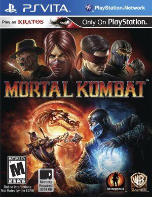 MORTAL KOMBAT 9 PSVITA USA Xbox Ps3 Ps4 Pc Xbox360 XboxOne Wii Nintendo Mac Linux