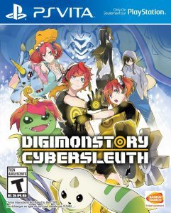 Digimon Story Cyber Sleuth (UPDATE+DLC) (NoNpDrm) [PSVita] [USA/EUR] [MF-MG-GD]