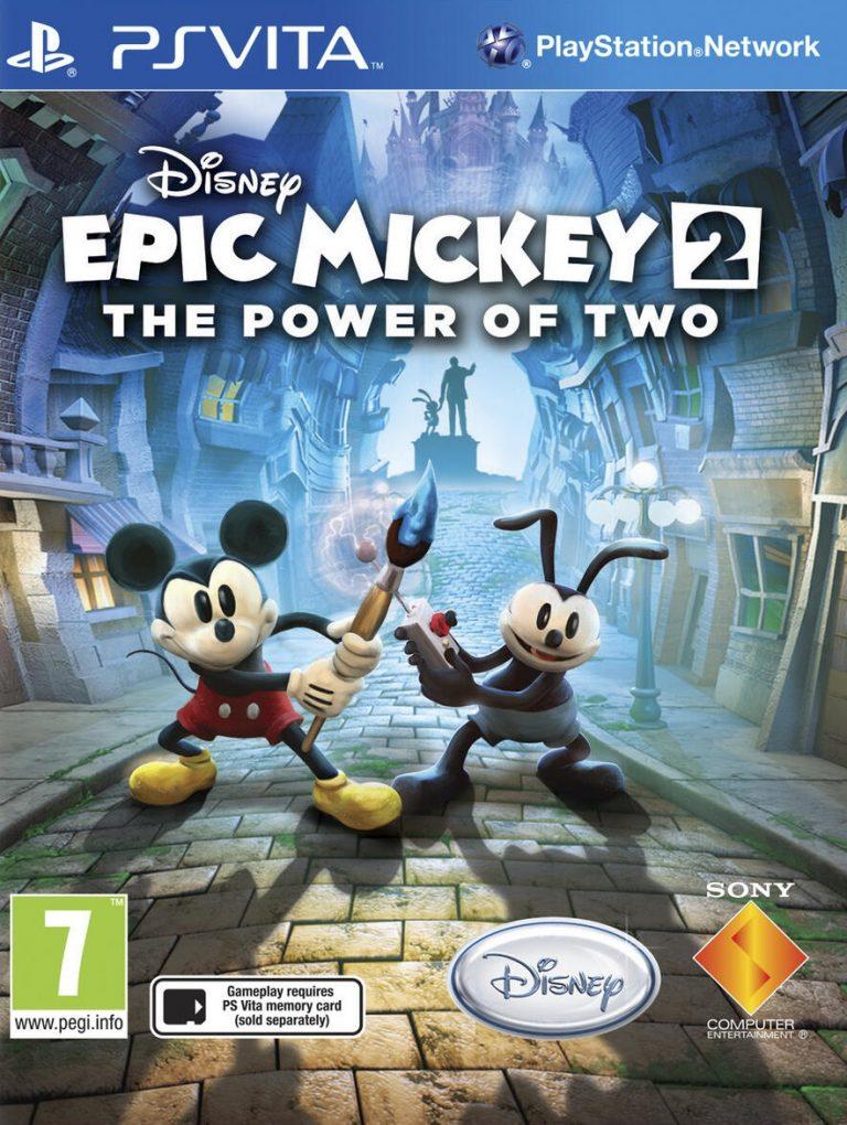 دانلود بازی Disney Epic Mickey 2 برای PsVita