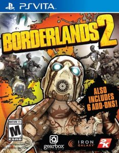 Borderlands 2 (UPDATE+DLC) (NoNpDrm) [PSVita] [USA/EUR] [MF-MG-GD]