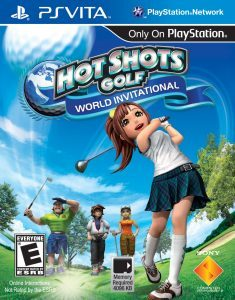 Hot Shots Golf: World Invitational (UPDATE) (NoNpDrm) [PSVita] [USA] [MF-MG-GD]