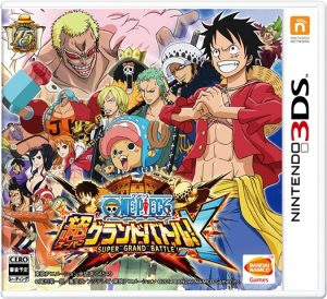One Piece: Super Grand Battle! X (UPDATE) (3DS) (JPN) [CIA] [MF-MG-GD]