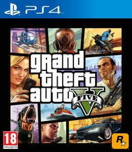 Grand Theft Auto V [PKG v1.27] [PS4] [EUR] [MF-MG-GD]