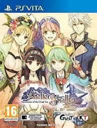Atelier Shallie Plus: Alchemists of the Dusk Sea (NoNpDrm) [PSVita] [USA] [MF-MG-GD]