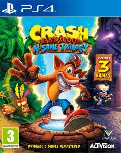 Crash Bandicoot N. Sane Trilogy [PKG] [v1.01+ALL DLC] [PS4] [EUR] [MF-MG-GD]