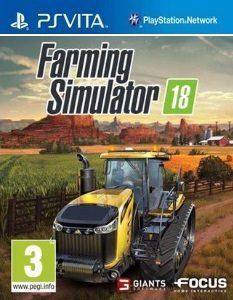 Farming Simulator 18 (Mai/3.60) [PSVita] [USA] [MF-MG-GD]