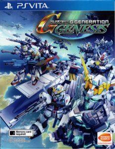 SD Gundam G-Generation Genesis Singapore (NoNpDrm) (DLC) (ENGLISH ASIA) [PSVita] [MF-MG-GD]