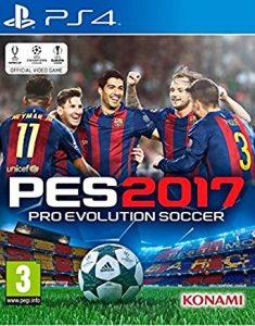 Pro Evolution Soccer 2017 [PKG] [PS4] [EUR] [MF-MG-GD]