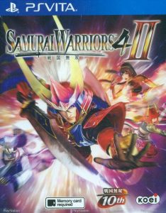 Samurai Warriors 4-II (Mai/3.60) [Vita] [USA] [MF-MG-GD]