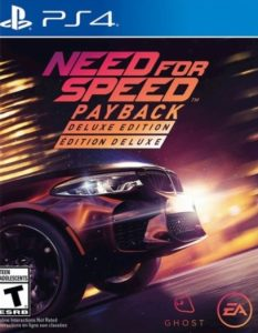 Need for Speed: Payback Deluxe Edition [PKG] [v1.08+ALL DLC] [PS4] [EUR] [MF-MG-GD]