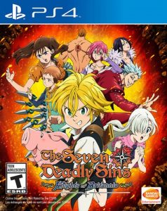 The Seven Deadly Sins: Knights of Britannia [PKG] [PS4] [EUR] [MF-MG-GD]