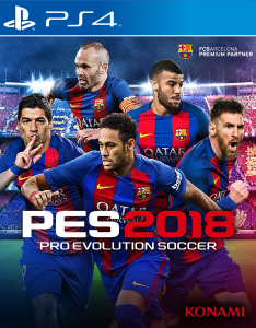 Pro Evolution Soccer 2018 (LATINO) [PKG] [PS4] [USA] [MF-MG-GD]