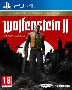 Wolfenstein II: The New Colossus Digital Deluxe Edition [PKG] [v1.07+DLC] [PS4] [USA] [MF-MG-GD]