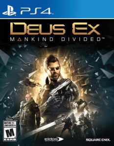 Deus Ex: Mankind Divided [PKG] [v1.14+ALL DLC] [PS4] [EUR] [MF-MG-GD]