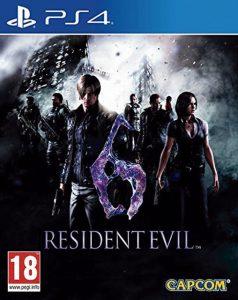 Resident Evil 6 [PKG v1.01] [PS4] [USA] [MF-MG-GD]