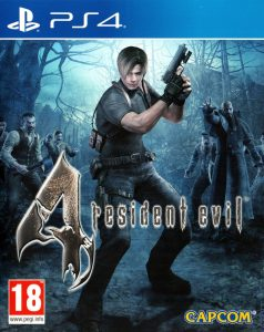 Resident Evil 4 [PKG v1.01] [PS4] [USA] [MF-MG-GD]