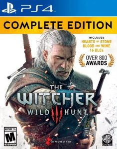 The Witcher 3: Wild Hunt Complete Edition [PKG] [PS4] [USA] [MF-MG-GD]