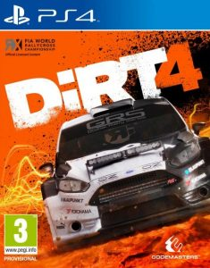 DiRT 4 [PKG v1.01] [PS4] [EUR] [MF-MG-GD]