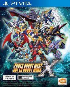 Super Robot Wars X (NoNpDrm) [3xDLC] [F3.67] [ENGLISH] [PSVita] [ASIA] [MF-MG-GD]