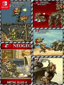 ACA NEOGEO Metal Slug 1, 2, 3, 4, X (XCI) [Switch] [MF-MG-GD]