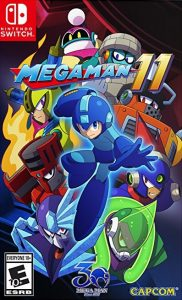 Mega Man 11 (NSP/XCI) [UPDATE] [Switch] [MF-MG-GD]