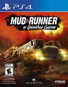 Spintires: Mudrunner [PKG v1.04] [DLC] [PS4] [EUR] [MF-MG-GD]