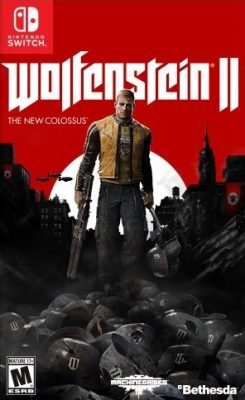 Wolfenstein II The New Colossus (NSP) [v1 2] [Switch] [MF-MG