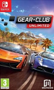 Gear.Club Unlimited (NSP) [v1.2.0+DLC] [Switch] [MF-MG-GD]