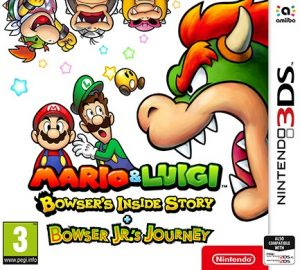 Mario & Luigi: Bowser's Inside Story + Bowser Jr's Journey (CIA) [3DS] [USA] [MF-MG-GD]
