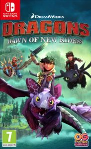 DreamWorks Dragons Dawn of New Riders (XCI) [Switch] [MF-MG-GD-1F]