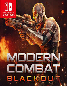 Modern Combat Blackout (NSP) [Switch] [MF-MG-GD]