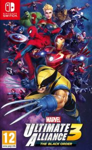 MARVEL ULTIMATE ALLIANCE 3: The Black Order (NSP) [UPDATE] [DLC] [Switch] [MF-MG-GD]