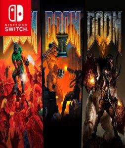 DOOM 1, 2 y 3 (NSP) [Switch] [MF-MG-GD]