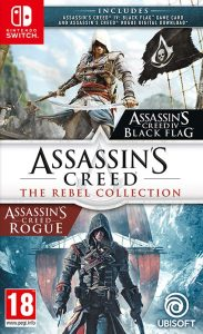 Assassin's Creed: The Rebel Collection (NSP) [Rogue DLC] [7 Audio Pack] [Switch] [MF-MG-GD]
