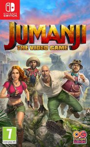 JUMANJI: The Video Game (NSP) [UPDATE] [Switch] [MF-MG-GD]