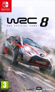 WRC 8 FIA World Rally Championship (NSP) [UPDATE] [Switch] [MF-MG-GD]